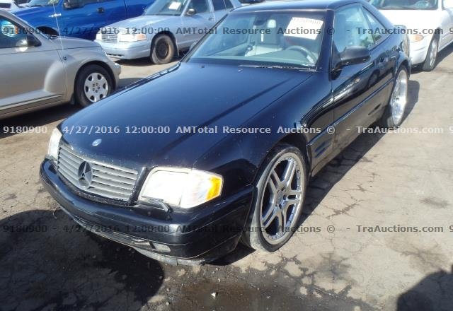 Salvage cars for sale 2000 mercedes benz sl500 sport for Salvage mercedes benz for sale ebay
