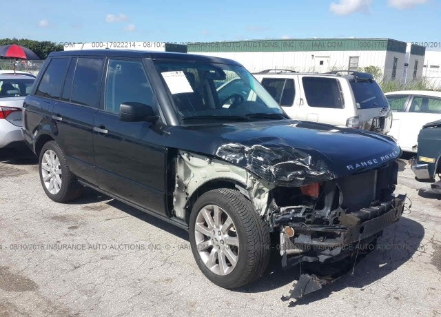 Salvage Cars For Sale 2008 Land Rover Range Rover