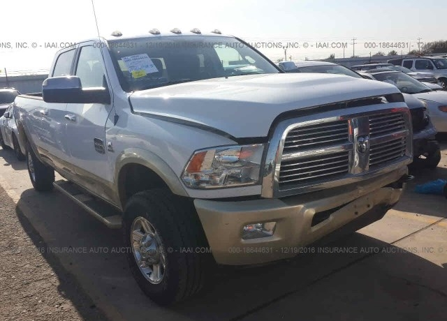 Salvage cars for sale: 2012 Dodge RAM 3500