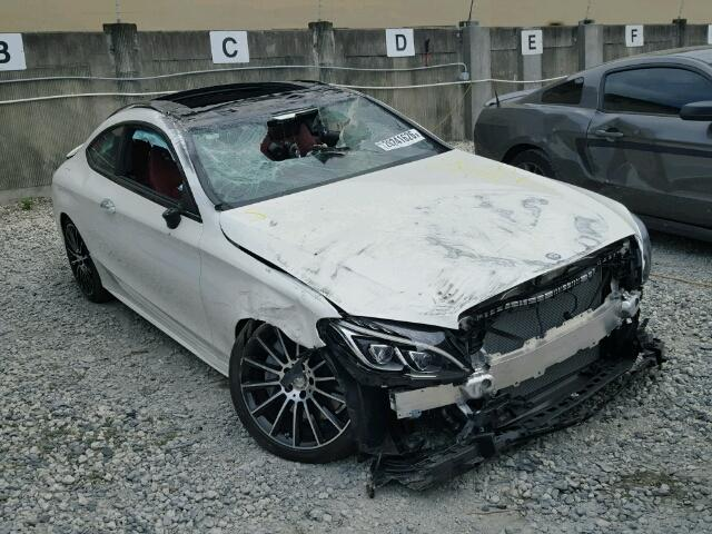 Salvage cars for sale 2017 mercedes benz c 300 for Salvage mercedes benz for sale ebay