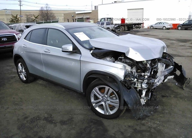 Salvage cars for sale 2016 mercedes benz gla for Salvage mercedes benz for sale ebay