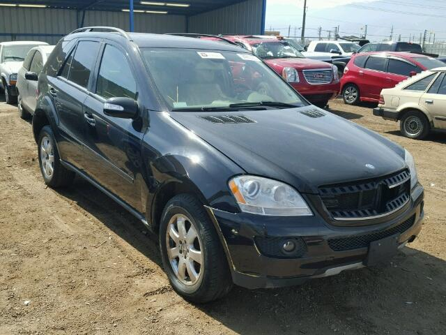 Salvage cars for sale 2007 mercedes benz ml350 for 2007 mercedes benz ml350 for sale