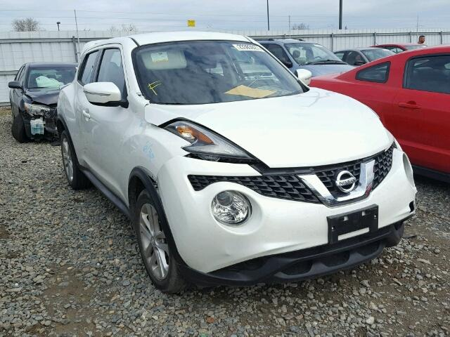 Nissan Salvage For Sale Repairable Cars At Auction Prices: Salvage Cars For Sale: 2015 NISSAN JUKE