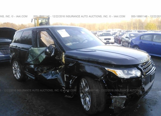 Insurance Auto Auction Salvage >> Salvage Cars For Sale 2016 Land Rover Range Rover Sport