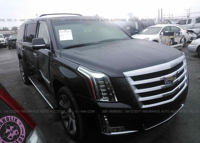 Insurance Auto Auction Salvage >> Salvage Cars For Sale 2016 Cadillac Escalade